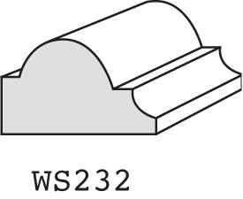 "WS232 - 1/2"" x 3/4"""