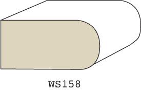 "WS158 - 3/4"" x 1-1/2"""
