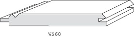 "WS60 - 3/8"" X 3-1/4"""