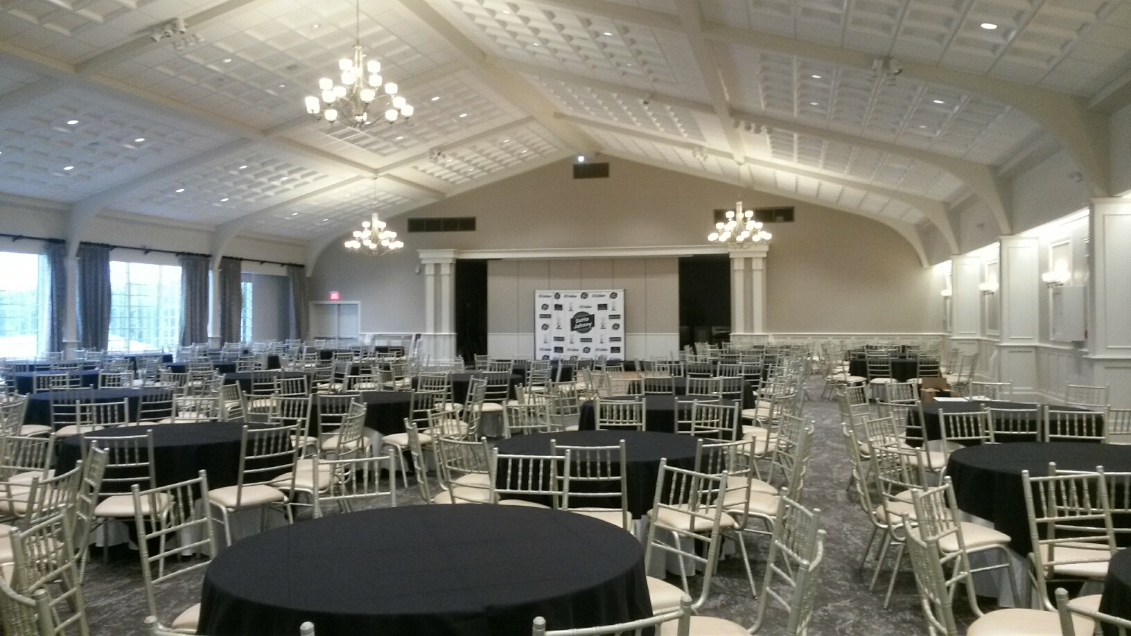 The Grand Ballroom at The IC at Serafina Garden Party 2018