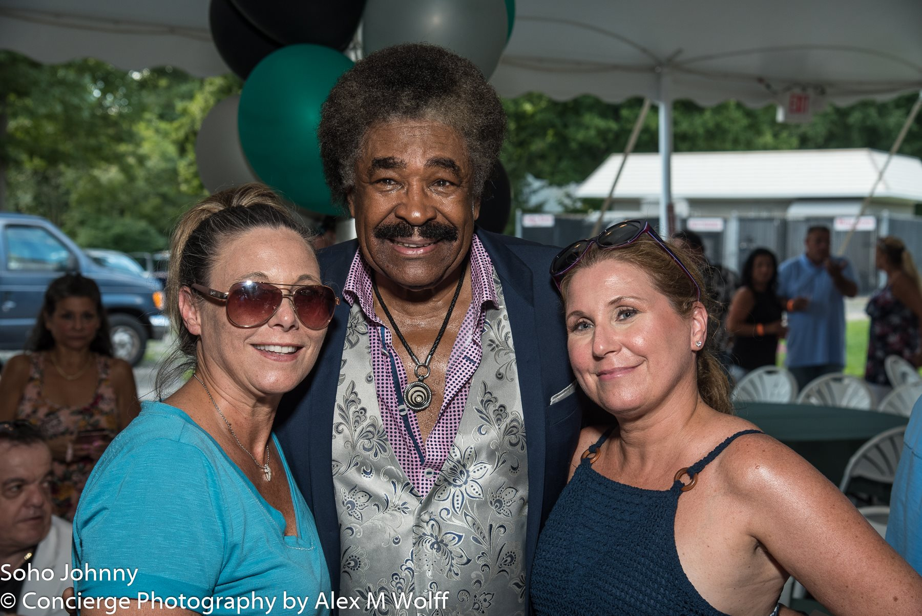 """GEORGE MCCRAE"" Taking Time After Performing For A Photo Op at Garden Party 2018"