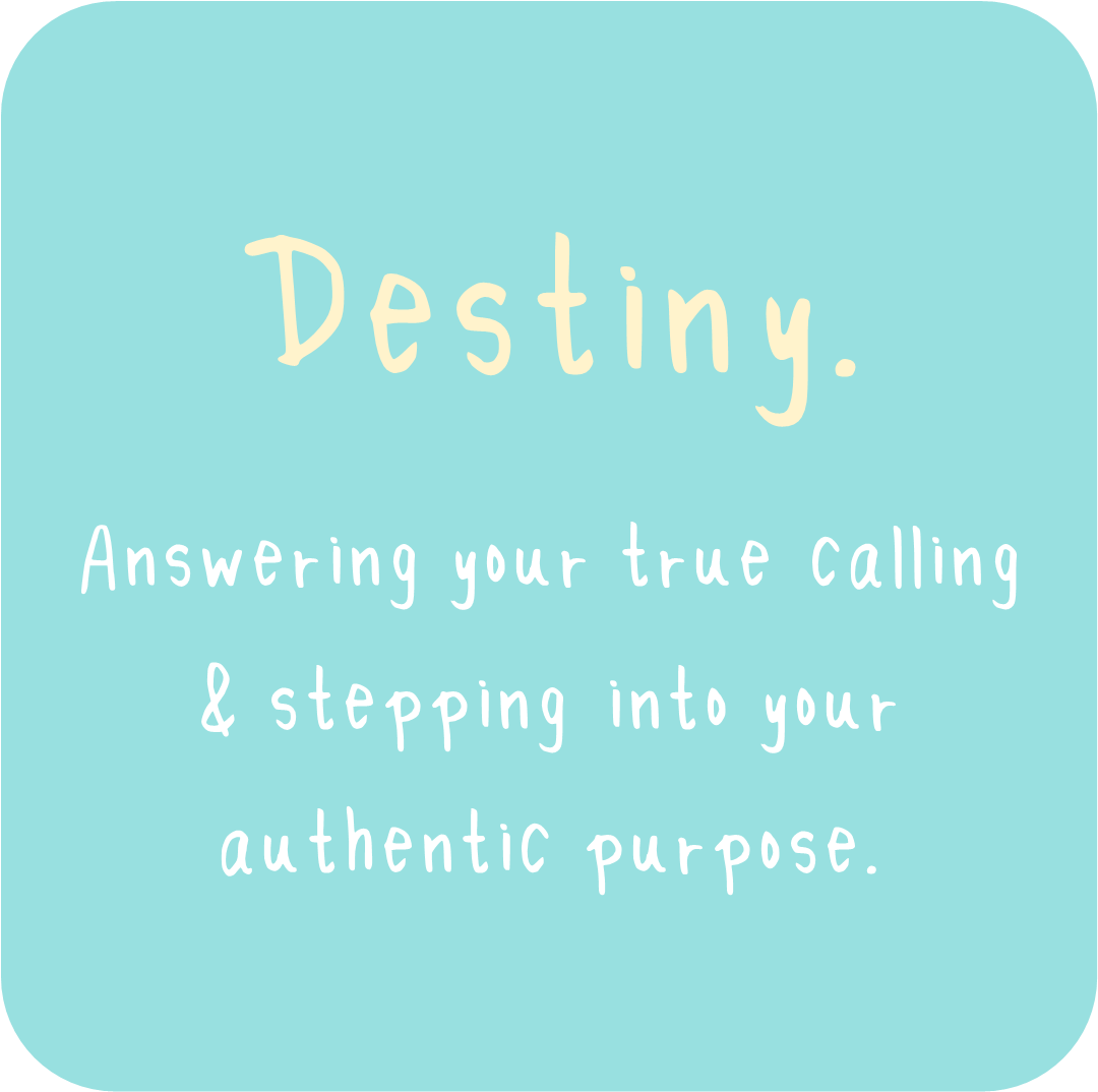 Destiny does not befall upon you. It is the life that you choose. - Are you ready to answer your true calling & step into your authentic purpose ?