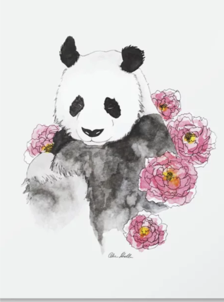 Celia's panda on society 6.png