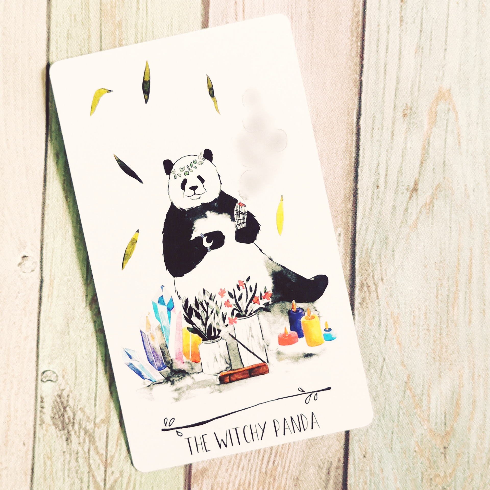 THE WITCHY PANDA:  CRYSTALS, INCENSE, CANDLES, SPELLS & RITUALS