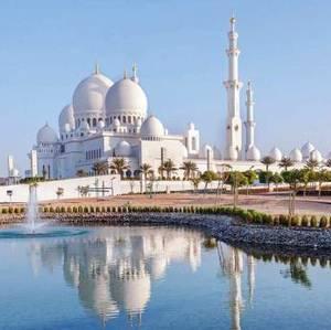 Mosque d'Abu Dhabi