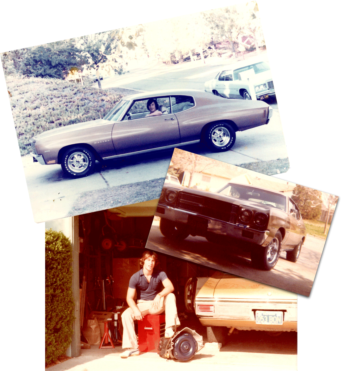 A few photos of of me and my '70 Chevelle