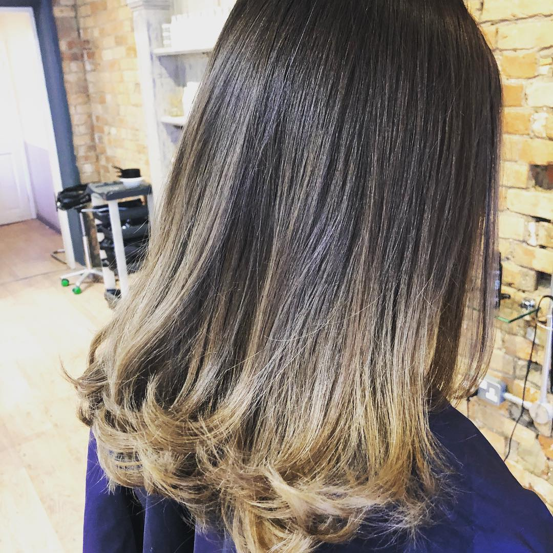 Ombre ready for summer -