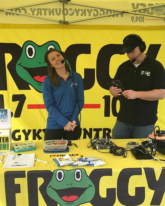 One of our PTs, Mallori, got to talk on Froggy KY Country Radio yesterday! Thankful for @froggykycountry and for all those who are supportive of local businesses!