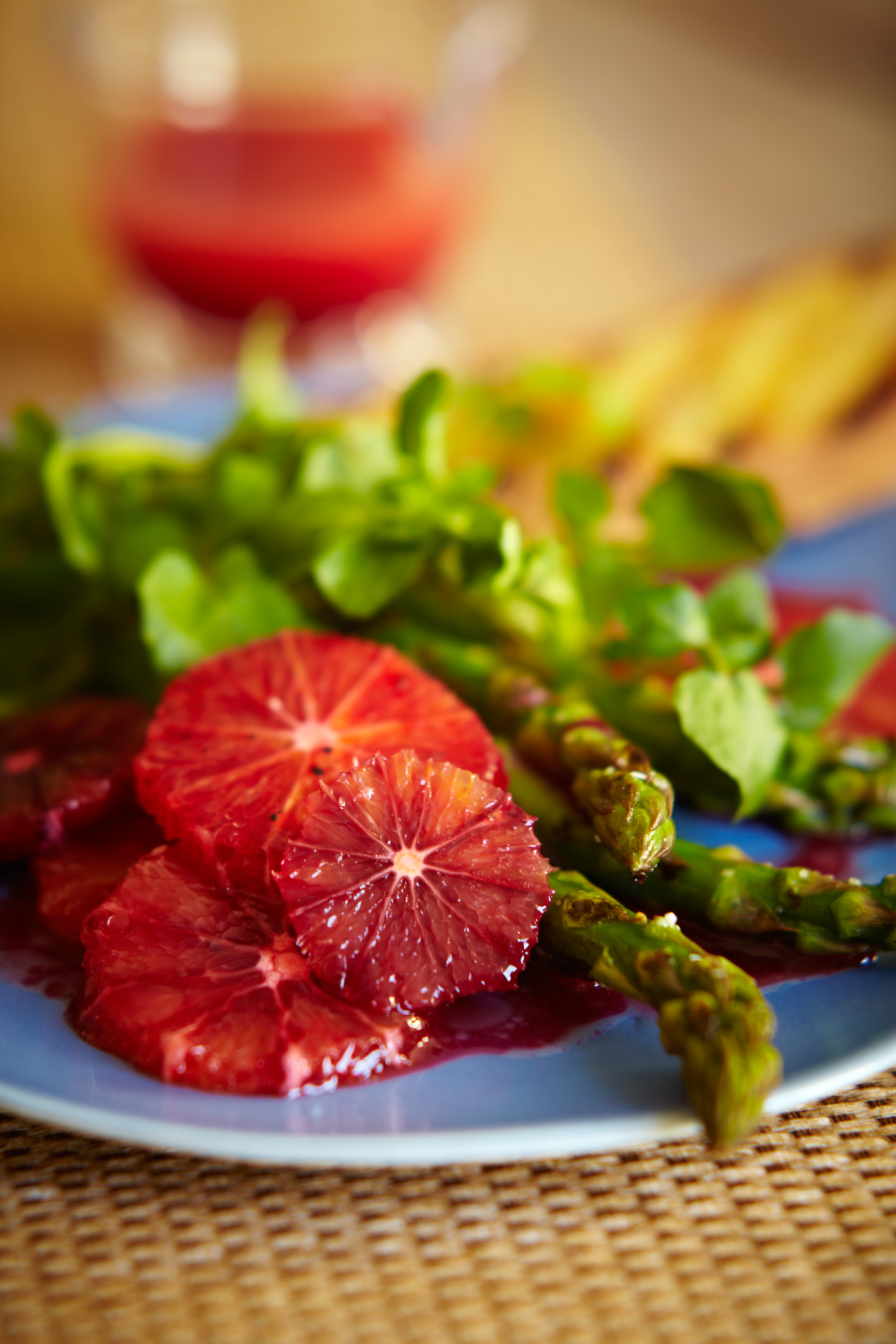 Blood Orange and Asparagus Spring Salad