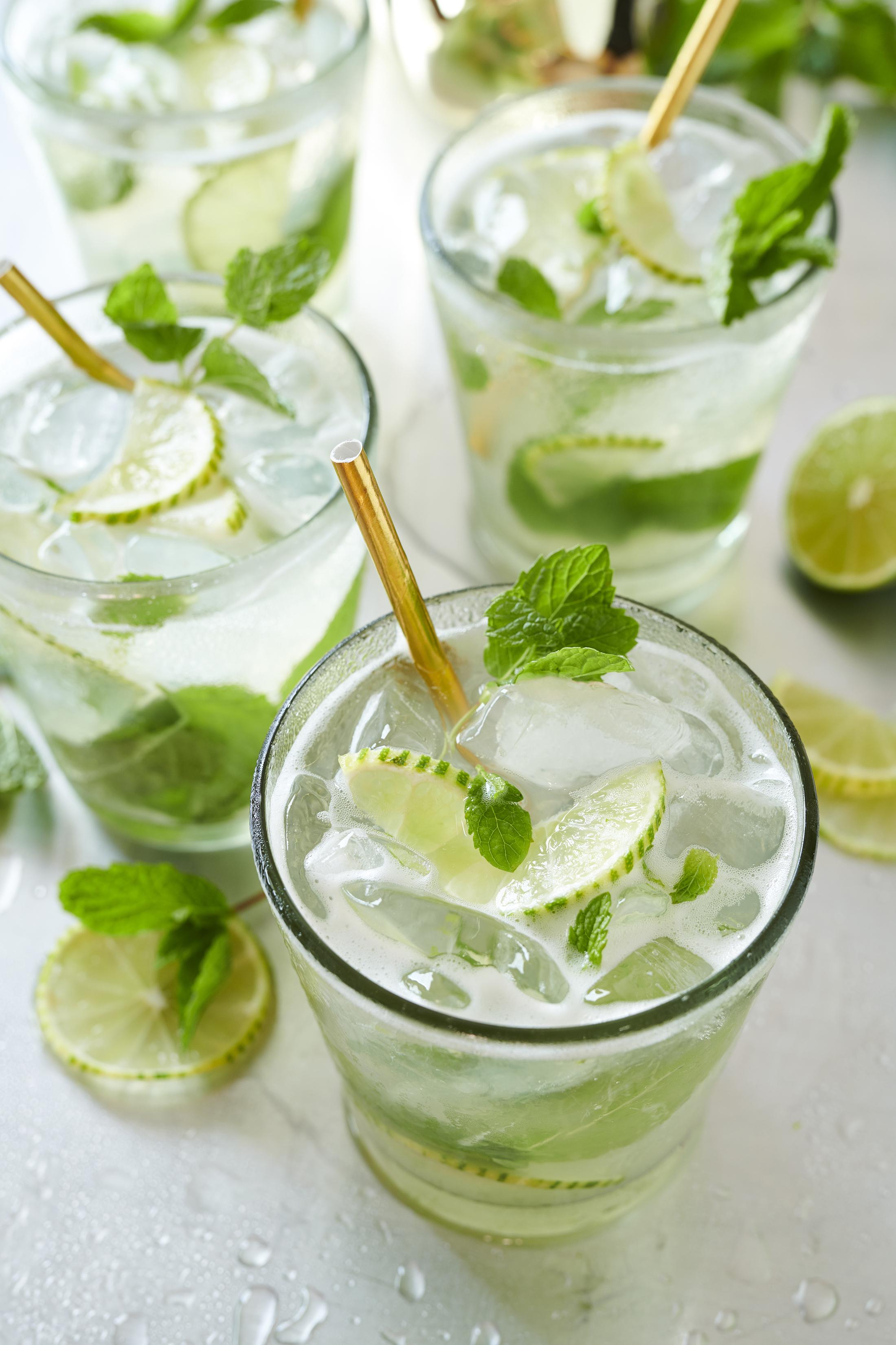 Kiwi Mojito Cocktail