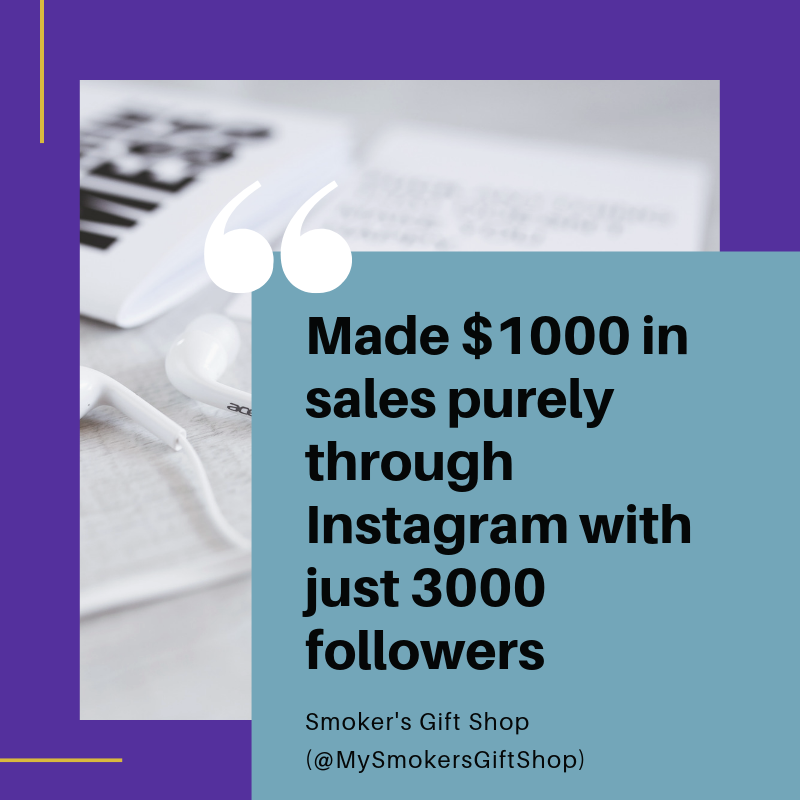 Selling through Instagram with InstaCollective