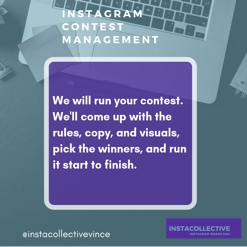 Running a contest on Instagram