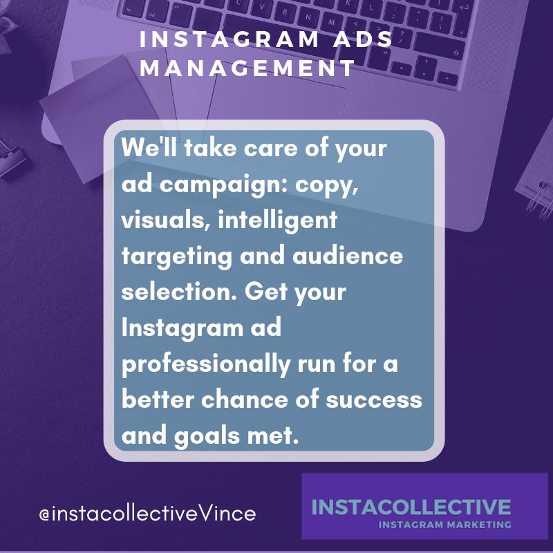 Instagram advertising / Instagram ads manager