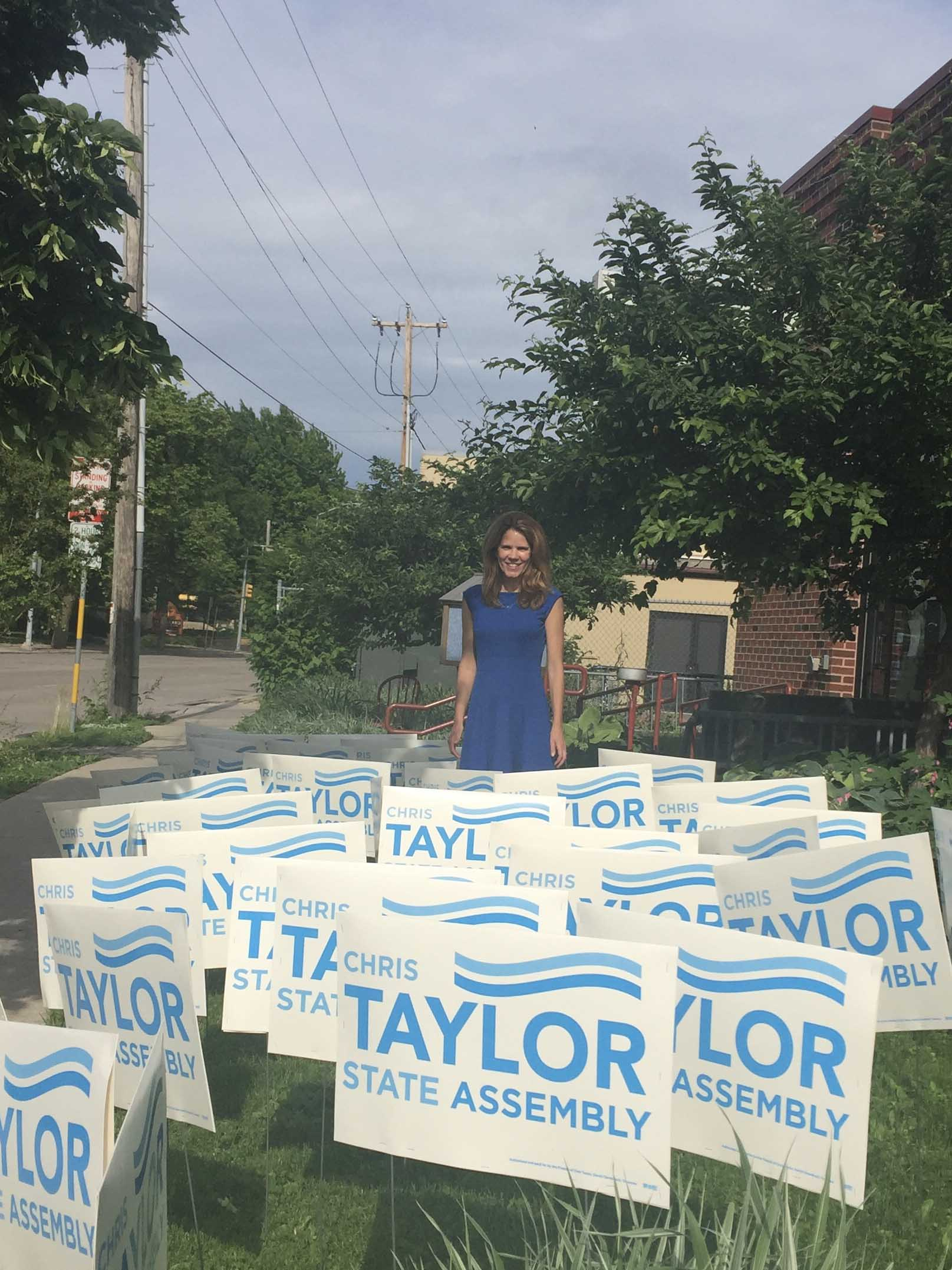 Chris Taylor Yard Signs