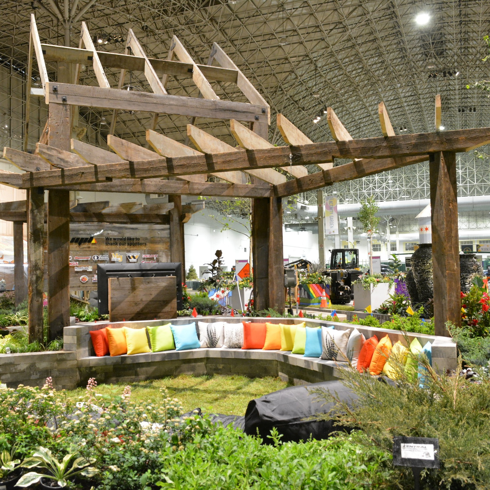 NPL DIVERSITY GARDEN - 2018 FLOWER & GARDEN SHOW  Landscape Design + Build  Chicago, Illinois