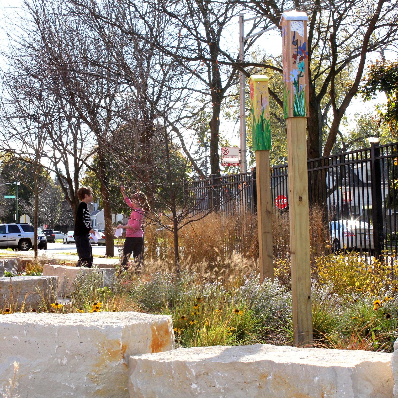 KELLER ELEMENTARY SCHOOL, CPS  Landscape Construction + Maintenance  Chicago, Illinois
