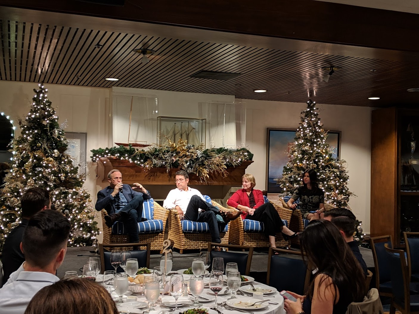 2018 YPE Gala with Dan Shugar, Anne Hoskins, Andrew Beebe, & Emily Kirsch