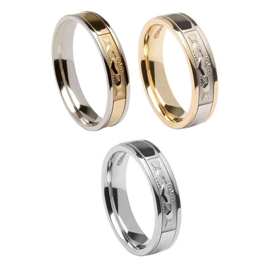5 mm Claddagh Wedding Ring for Ladies