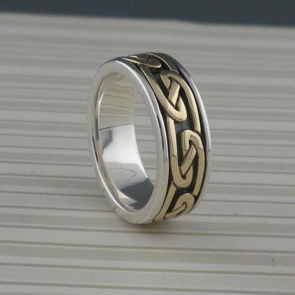 Celtic Eternity Knot Wedding Ring