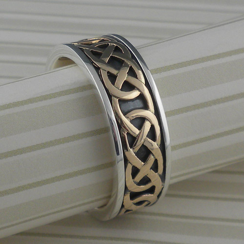 Belston Celtic Eternity Knot Wedding Ring