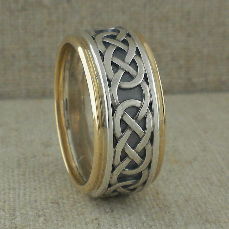 Moidart Celtic Knot Wedding Ring