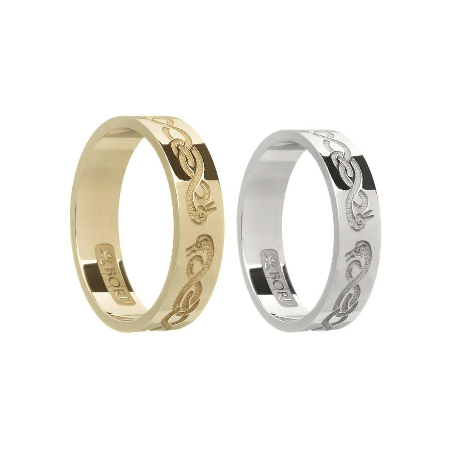 Ladies Le Cheile Wedding Ring