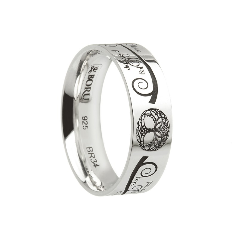 Celtic Tree of Life Wedding Ring