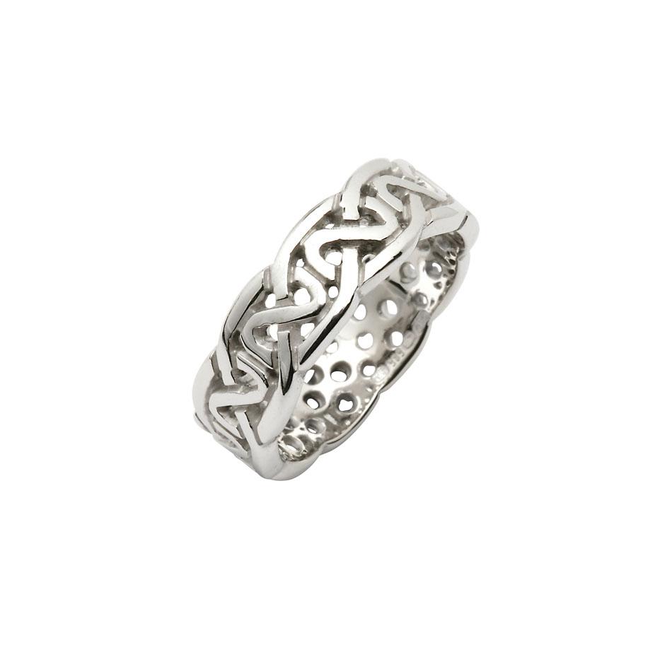 Men's Celtic Knot Wedding Ring