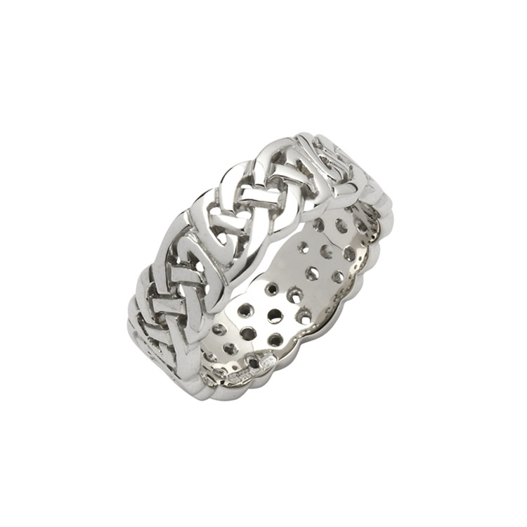 8.6 mm Celtic Knot Wedding Ring