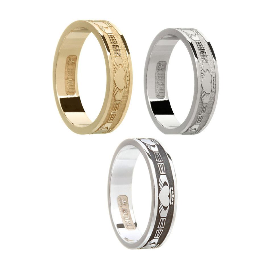 Ladies Claddagh Wedding Ring