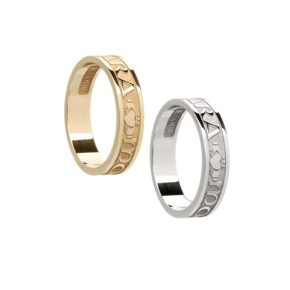 Ladies Mo Anam Cara Wedding Ring