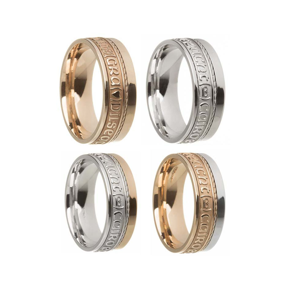 Gaelic Claddagh Wedding Ring
