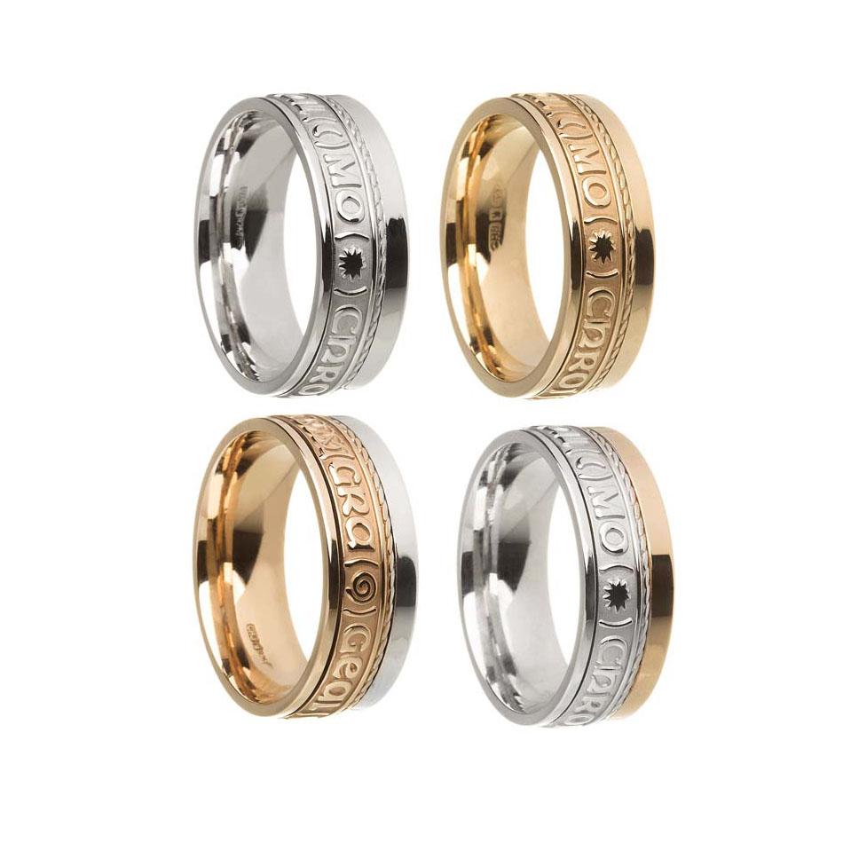 Gra Geal Mo Chroi Wedding Ring