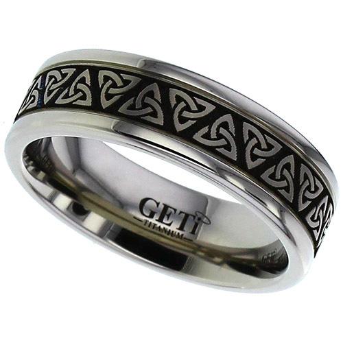 Celtic Trinity Knot Wedding Ring