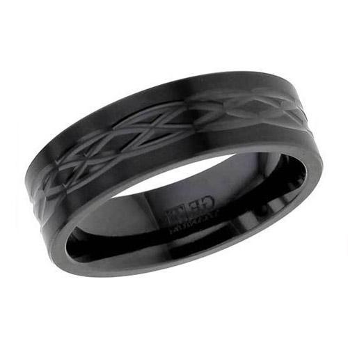 Celtic Weave Wedding Ring