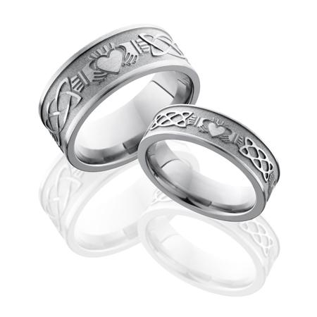 Celtic Claddagh Wedding Ring