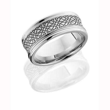 Celtic Wedding Ring in Cobalt Chrome