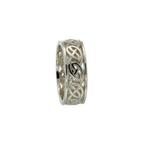 Ness Celtic Knot Wedding Ring