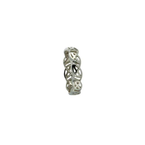 Sterling Silver Celtic Knot Wedding Ring