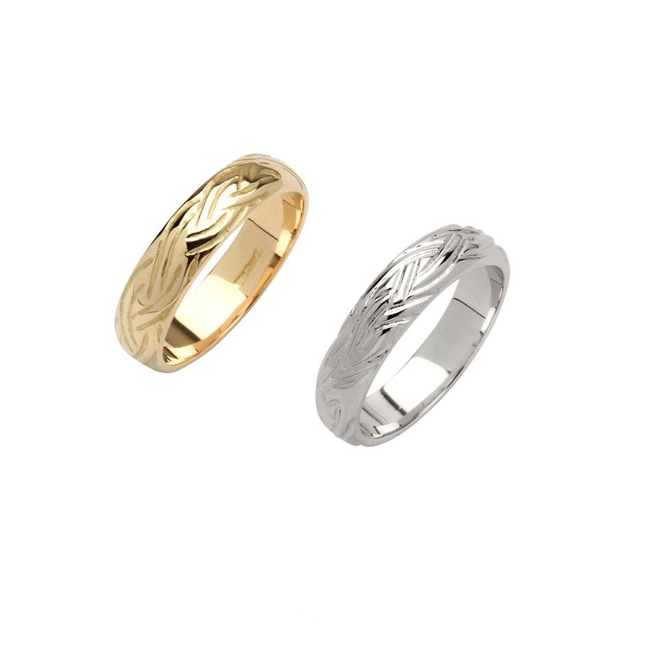 Men's Celtic Livia Wedding Ring