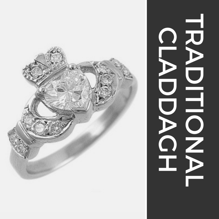 Traditional Claddagh Rings