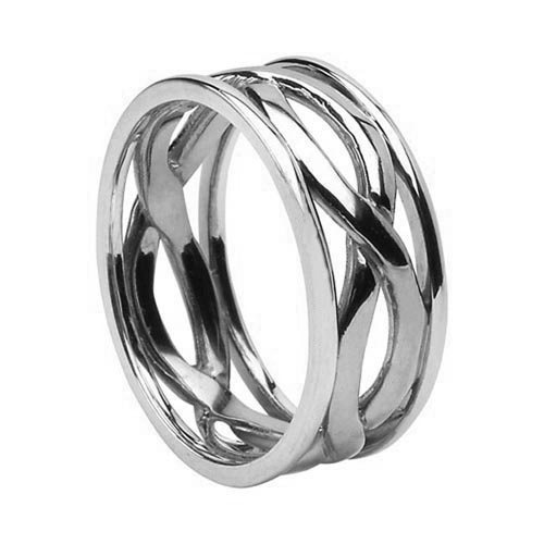 Celtic Infinity Wedding Ring