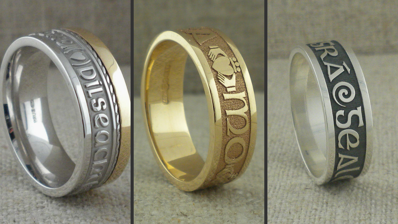 Gaelic Wedding Rings