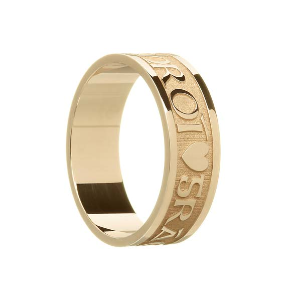 Men's Gra Geal Mo Chroi Wedding Ring