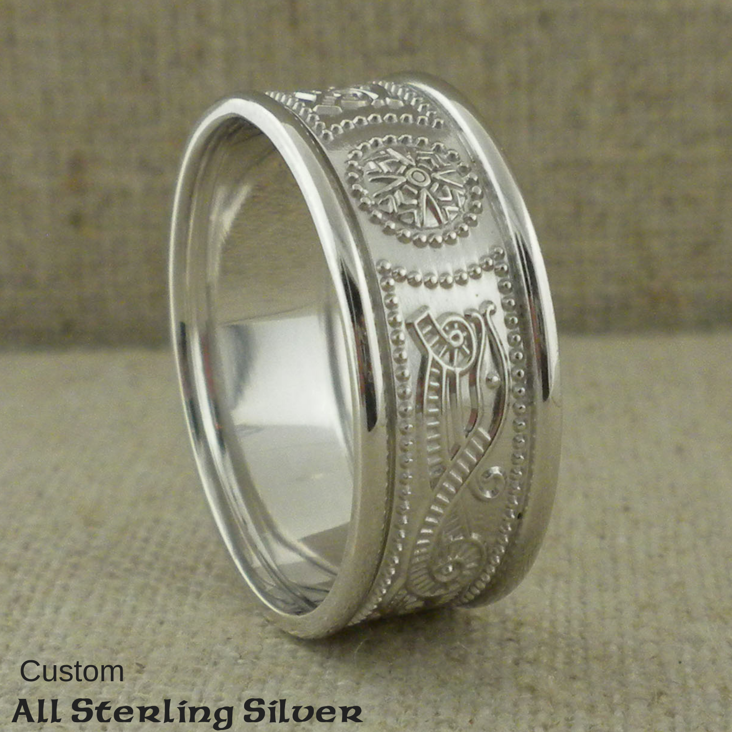 All Sterling Silver as a custom Order - Contact us for a quote.