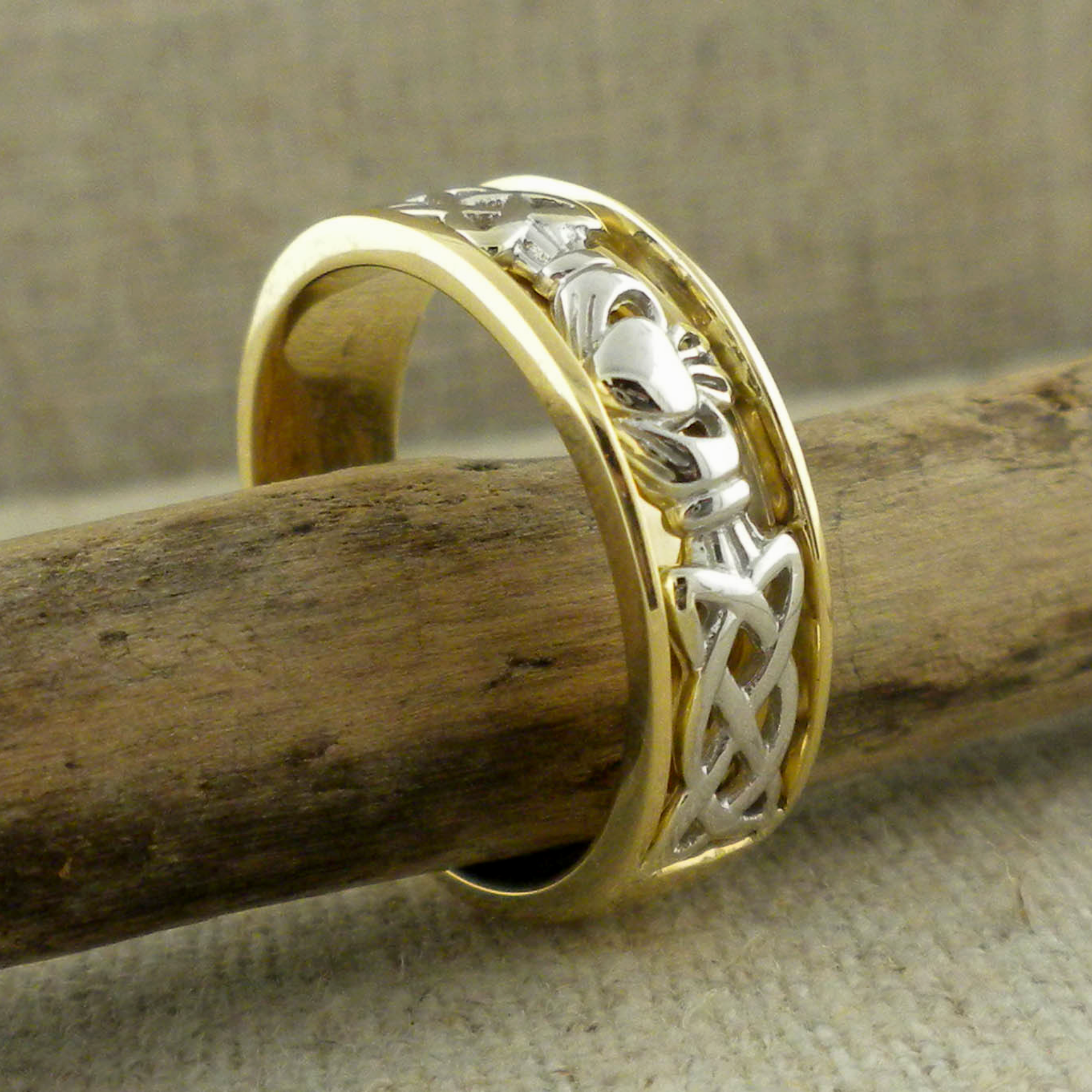 Claddagh Wedding Ring by Shanore