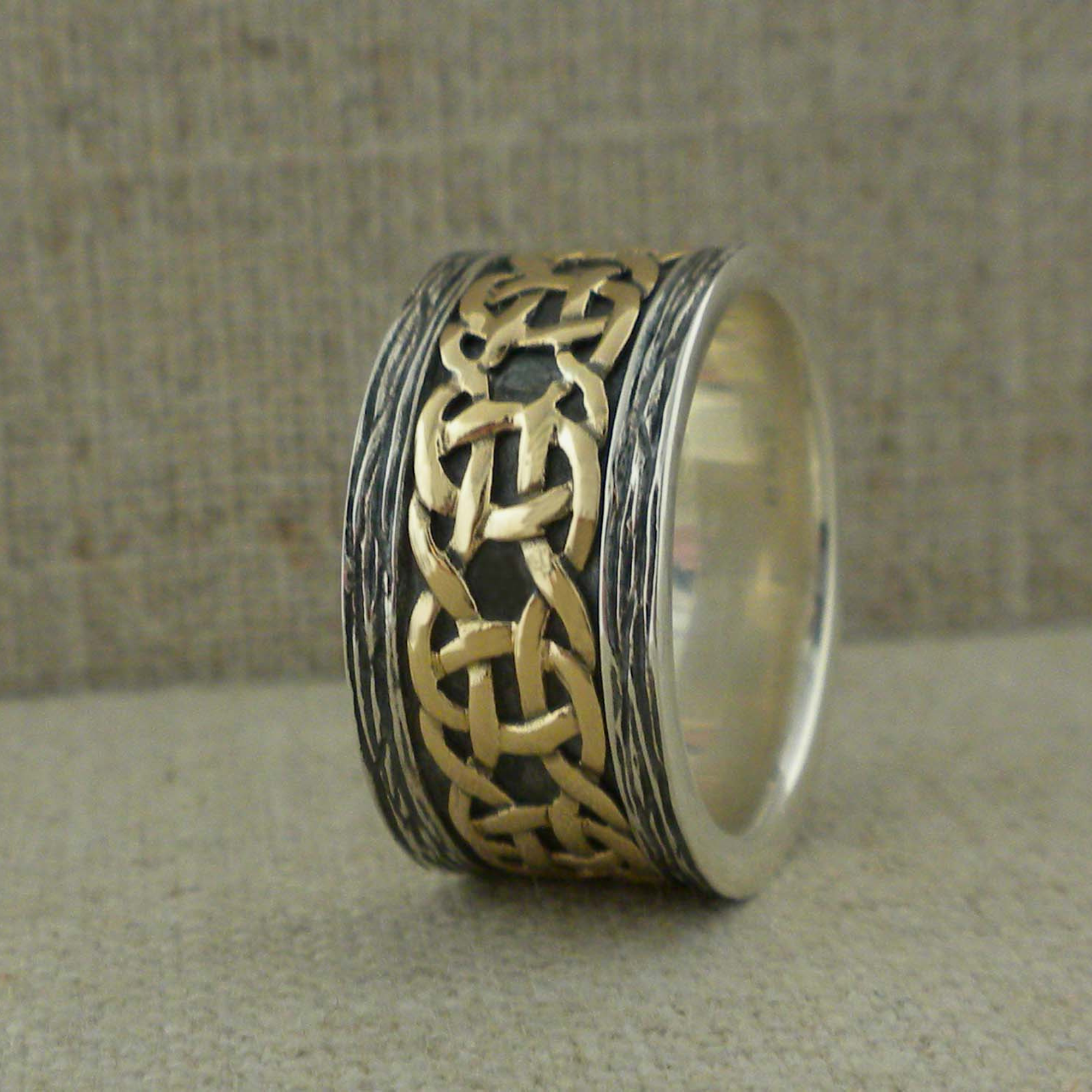 Keith Jack Celtic Wedding Ring