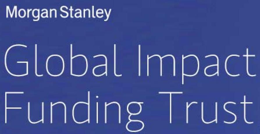 Morgan Stanley Global Impact Funding Trust