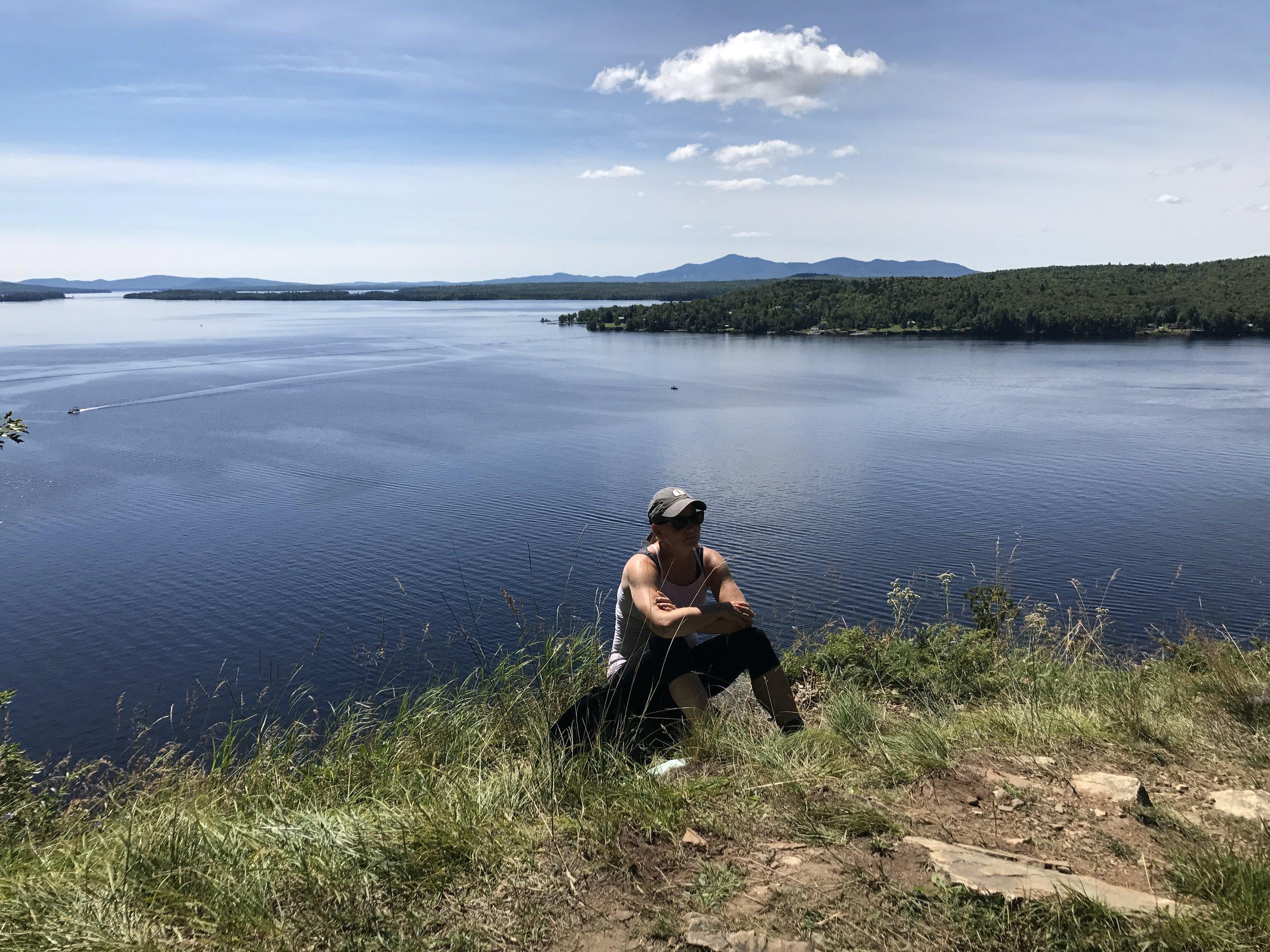We will climb Mt. Kineo, a stunning mountain in the heart of Moosehead Lake!