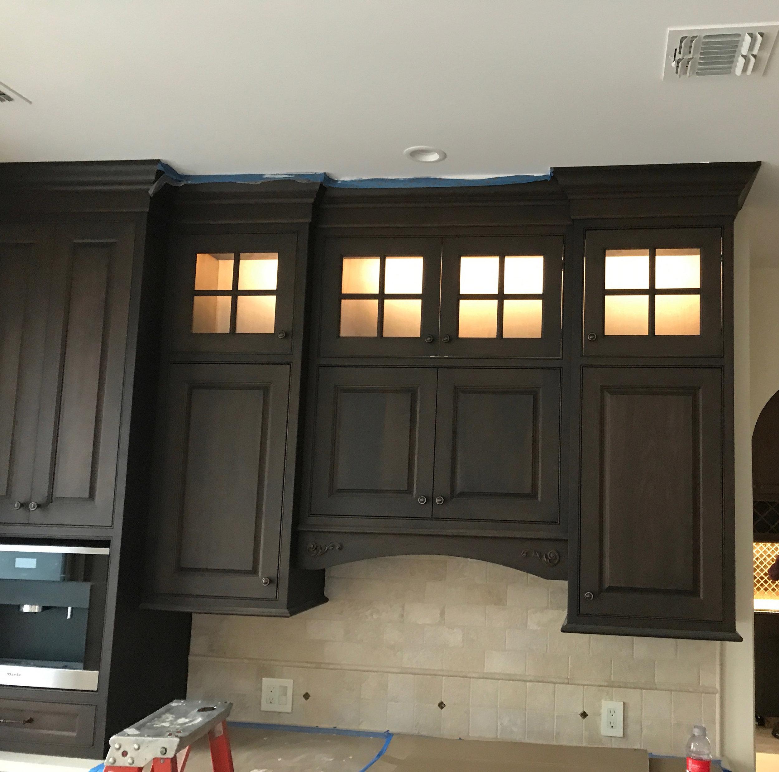 Custom in-cabinet lighting